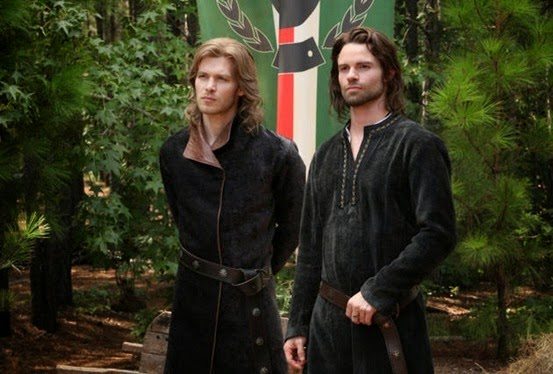 Elijah and Klaus in New Orleans