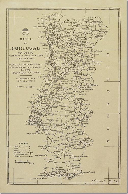 mapa estradas portugal actualizado Restos de Colecção: Junta Autónoma das Estradas mapa estradas portugal actualizado