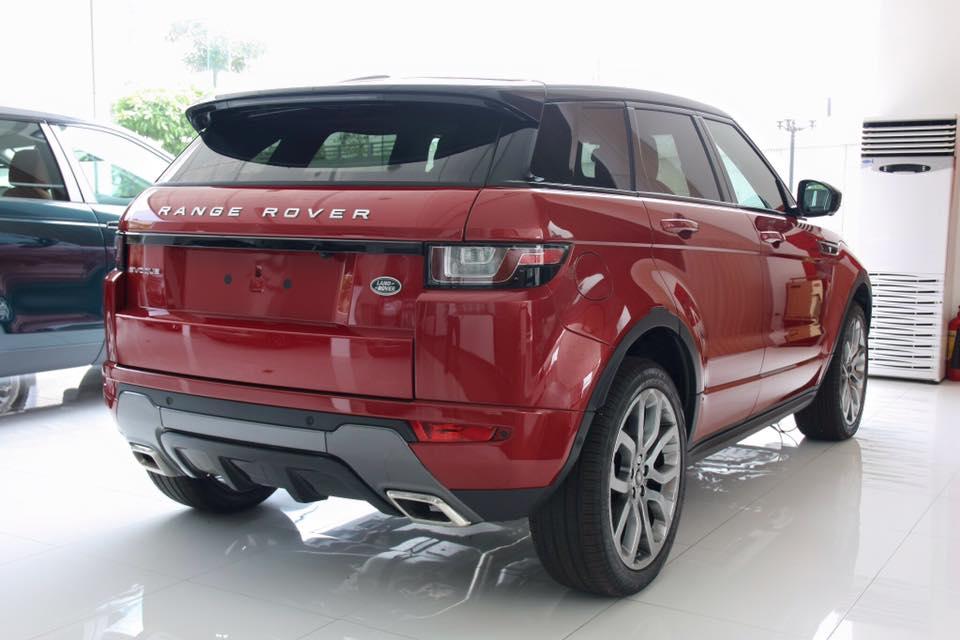 Ngoại thất Xe Range Rover Evoque HSE DYNAMIC Màu Đỏ 09