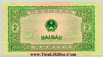 2 Hào (Việt nam dân chủ 1958)