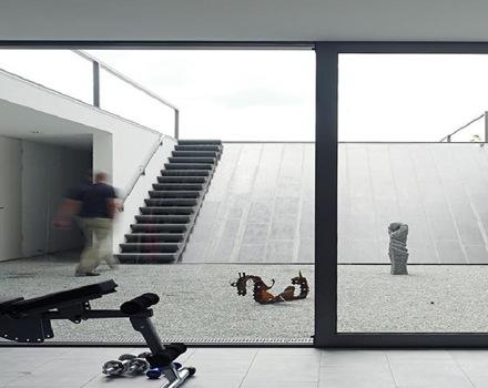 construccion-casa--diseño-escaleras-Puristische-Villa
