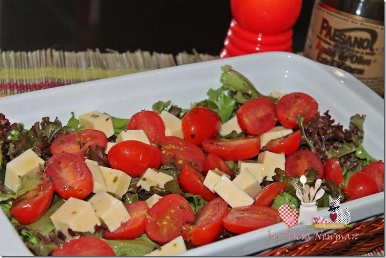 Salada de Tomate cereja marinado (2)