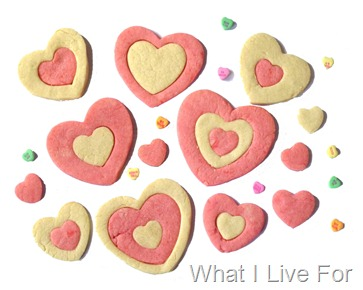 Heart Sugar Cookies at whatilivefor.net