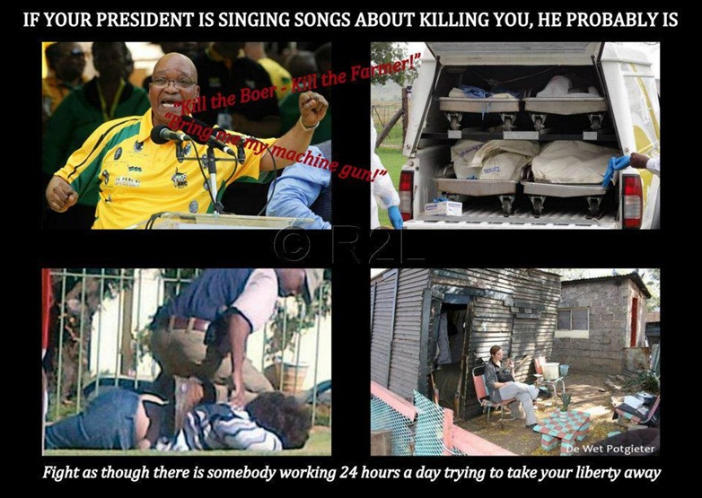 ZUMA IF PRES SINGS ABOUT KILLING YOU HE PROBABLY ALREADY IS