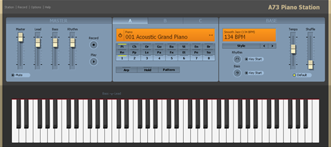 Free Virtual Piano Synthesizer