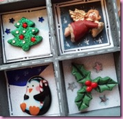 Printers Tray Christmas Decoration