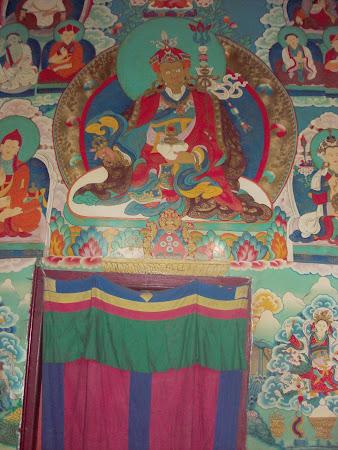 Obiective turistice India: templu tibetan din Darjeeling