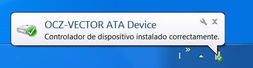 OCZ VECTOR en Windows 7