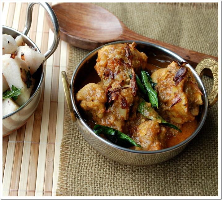 Varutharacha Kozhi Curry