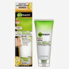 garnier dark spot hand treatment