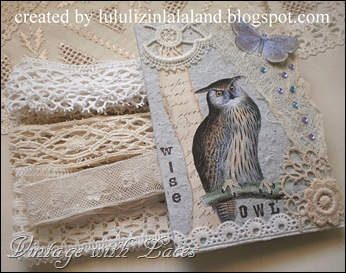 Owl Card and Lace