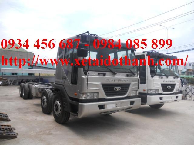 Xe Daewoo 19 tấn nhập khẩu
