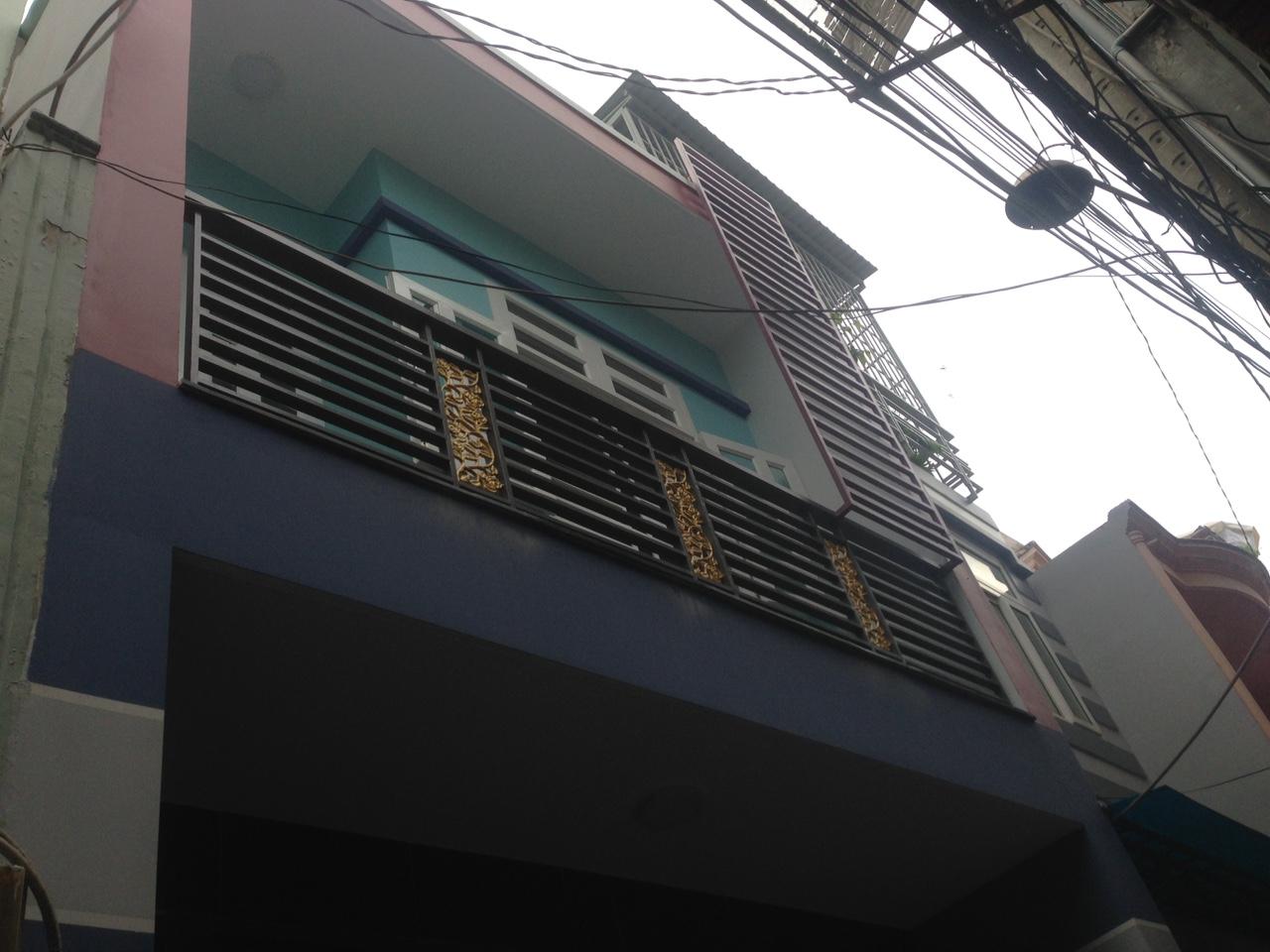 Bán nhà hẻm 146 kênh Tân Hóa Quận Tân Phú 04