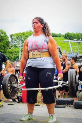 Our fanfriday is our WhatMovesYou contest winner Brianne Bearinger Her strength and