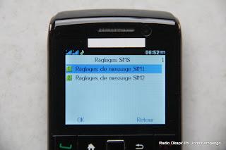 Téléphone. Radio Okapi/ Ph. John Bompengo