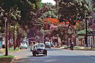 Saigon 1965 – Photo by William S. Fabianic. Đây là đường Phan Đình Phùng (nay là đường Nguyễn Đình Chiểu) lúc còn cho lưu thông 2 chiều.