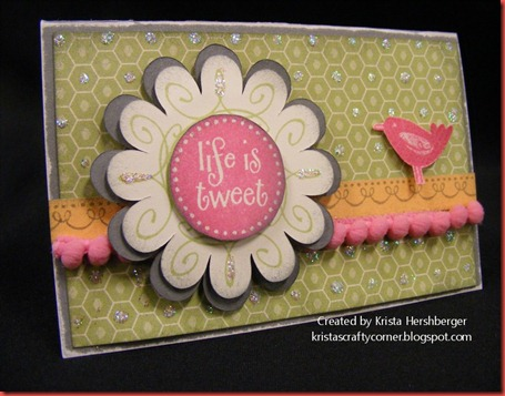 June SOTM life is tweet card