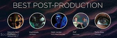 so nice we were nominated by the Much Music Video Awards for best post production