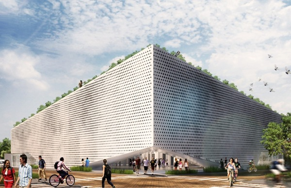 Moderno edificio de Residencia para estudiantes mexico