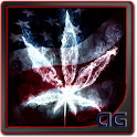 Smoke Weed USA Parallax LWP icon
