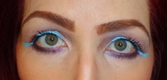 UD Vice LTD Look eyes open blue eye liner