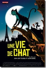 Um Gato Em Paris - cartaz do filme