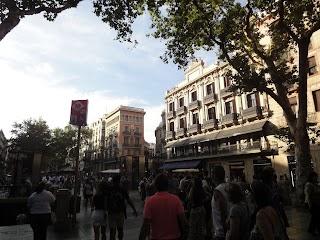Rambla à Barcelone