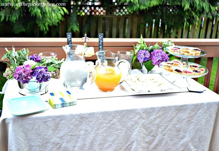 DIY Girls Night Table Setting