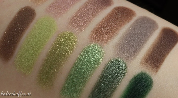 Sleek Garden of Eden Swatches