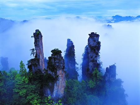 Parcul National Zhangjiajie - Avatar pe pamant