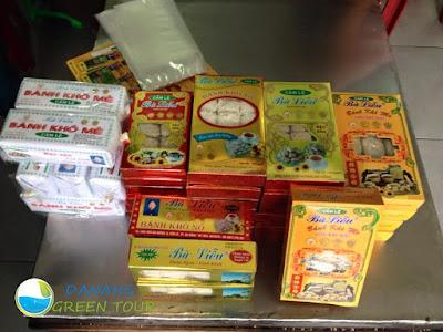 bánh mè khô đặc sản Đà Nẵng