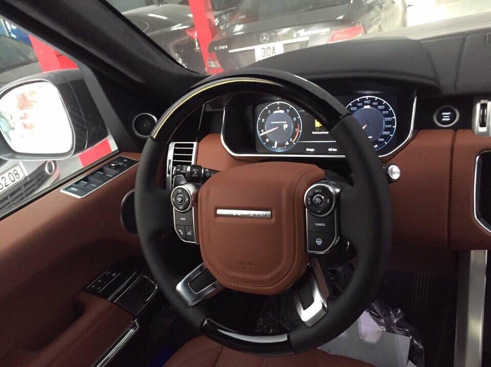 Nội Thất Xe Land Rover Range Rover Autobiography LWB Full Oftion màu đen 02