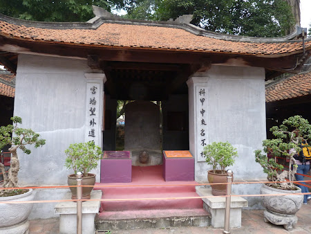 Obiective turistice Hanoi: Templul Literaturii