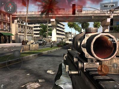 تحميل لعبة modern combat 4 apk + data مجانا على الأندرويد