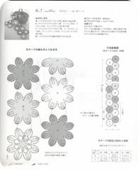 flores de crochet camino de mesa2