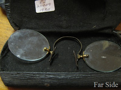 Pince-nez spectacles