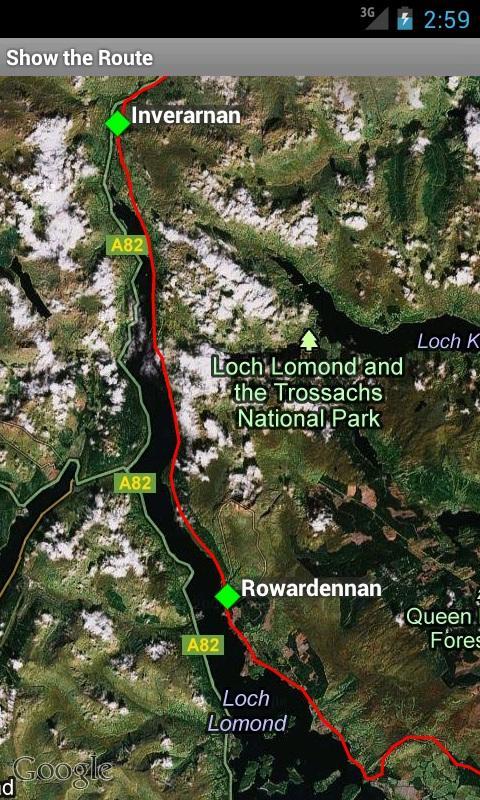 West Highland Way- screenshot