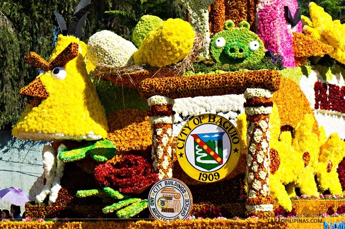 Angry Birds Float at Baguio's Panagbenga Float Parade