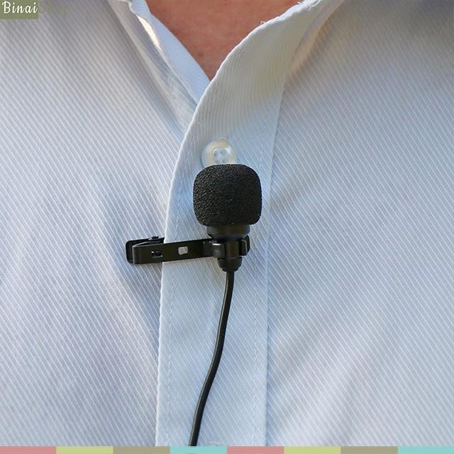 Cặp micro cài áo cho điện thoại và máy ảnh