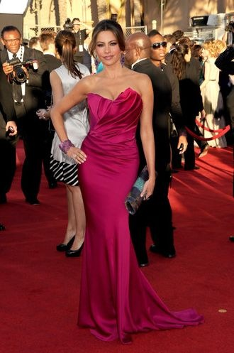 Sofia Vergara arrives at the 18th Annual Screen Actors Guild Awards