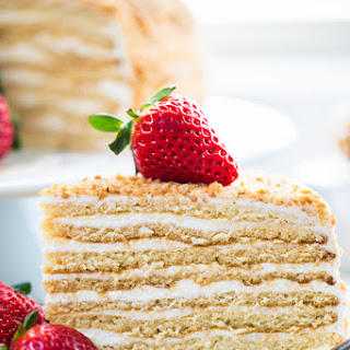 8-Layer Honey Cake Recipe (Medovik)