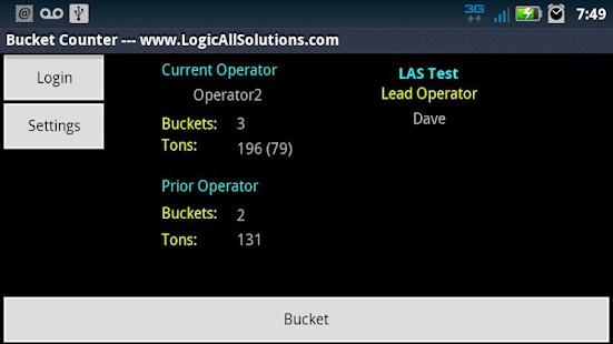 Bucket Counter- screenshot thumbnail