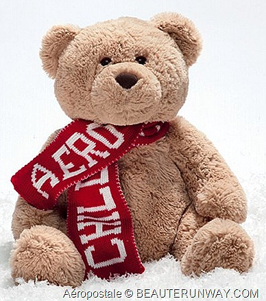 AEROPOSTALE SINGAPORE LIMITED EDITION AERO BEAR  ION ORCHARD & CITYLINK MALL