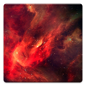 Fire Galaxy HD Live Wallpaper