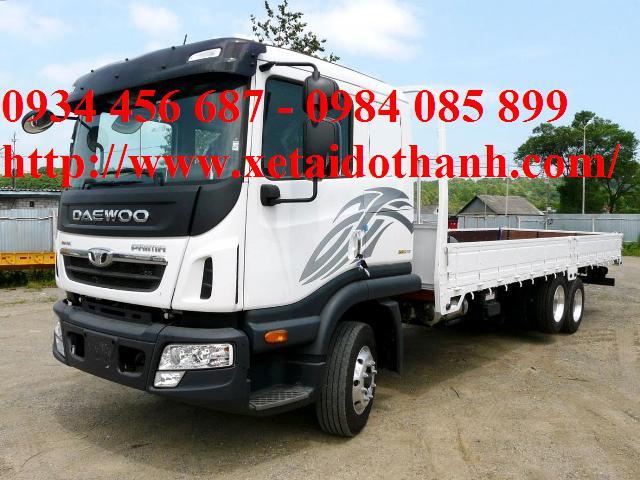 Xe tải 3 chân Daewoo 15t5