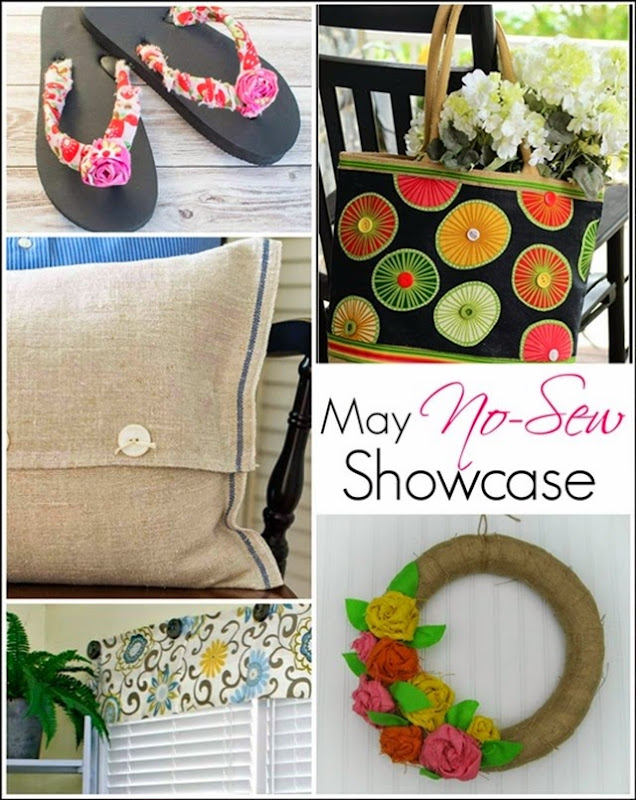 May No-Sew Showcase collage