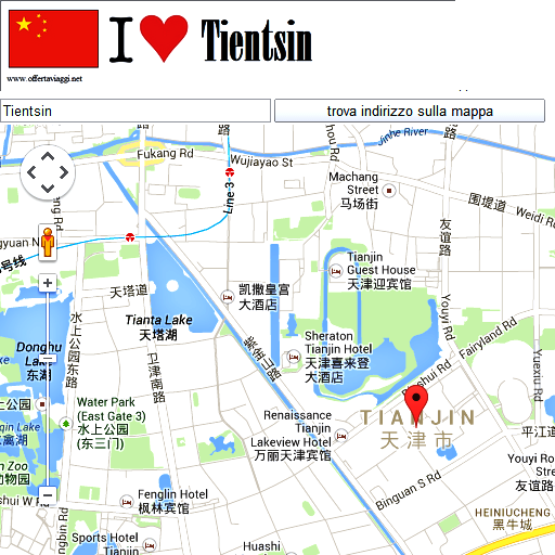Tianjin maps