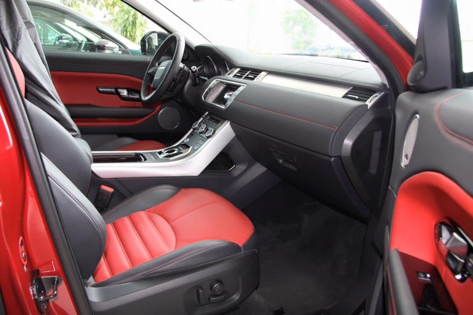 Nội thất Xe Range Rover Evoque HSE DYNAMIC Màu Đỏ 06
