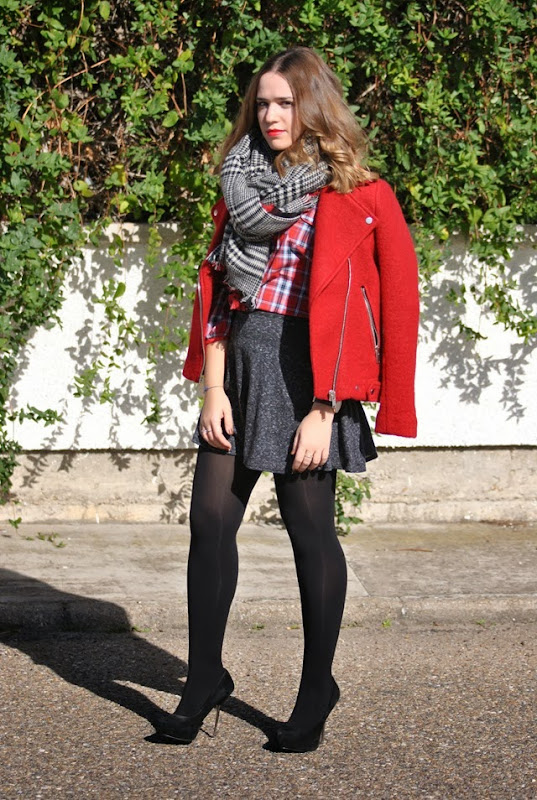 red tartan style in madrid 8