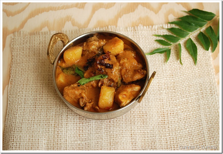 Trissur Style Chicken Curry